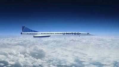 United Airlines donne un coup de pouce à Boom Supersonic