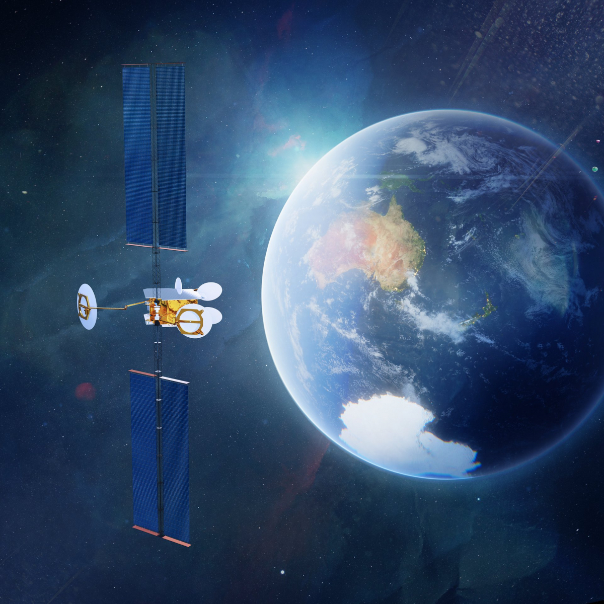 L'opérateur australien Optus commande un satellite OneSat à Airbus Defence and Space