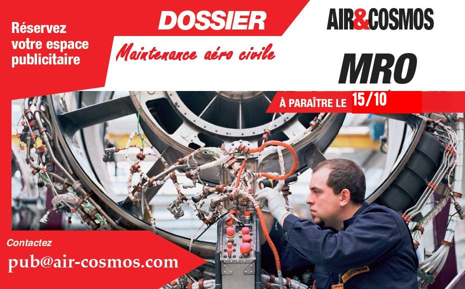 Dossier MRO à paraître le 15 octobre 2021 dans Air&Cosmos