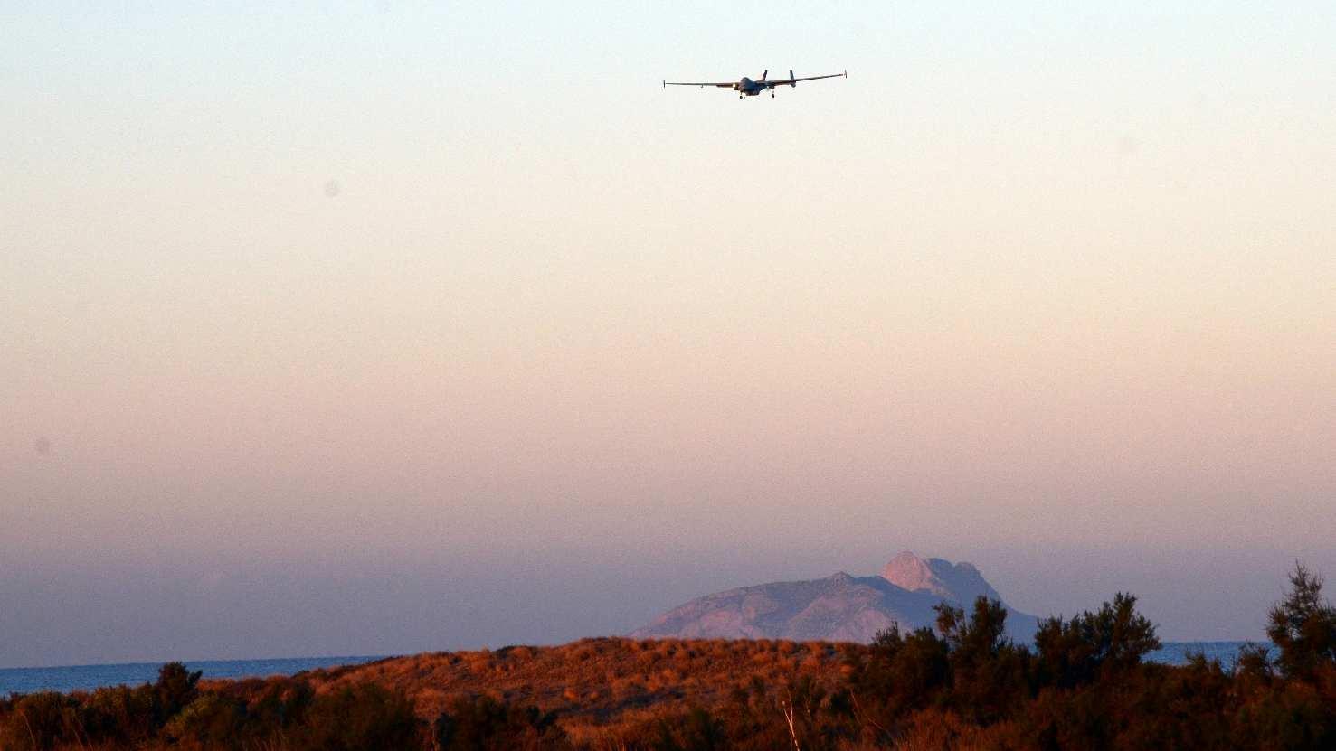 Le Heron cumule 200 heures de vol pour Frontex