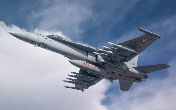 Suisse : 8Md de francs pour le renouvellement des avions de combat