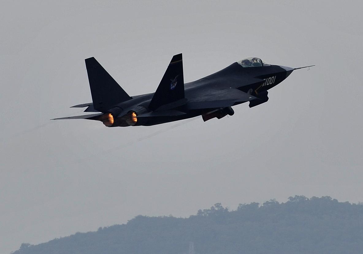 Airshow China 2014 : Le mystérieux FC-31