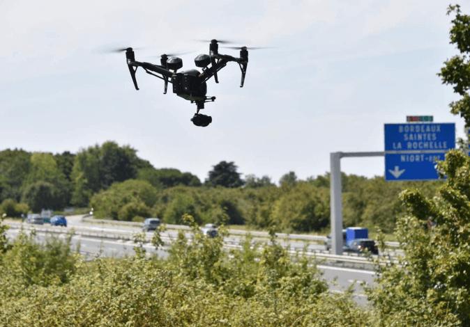 Vinci emploie des drones pour suivre l'état du trafic