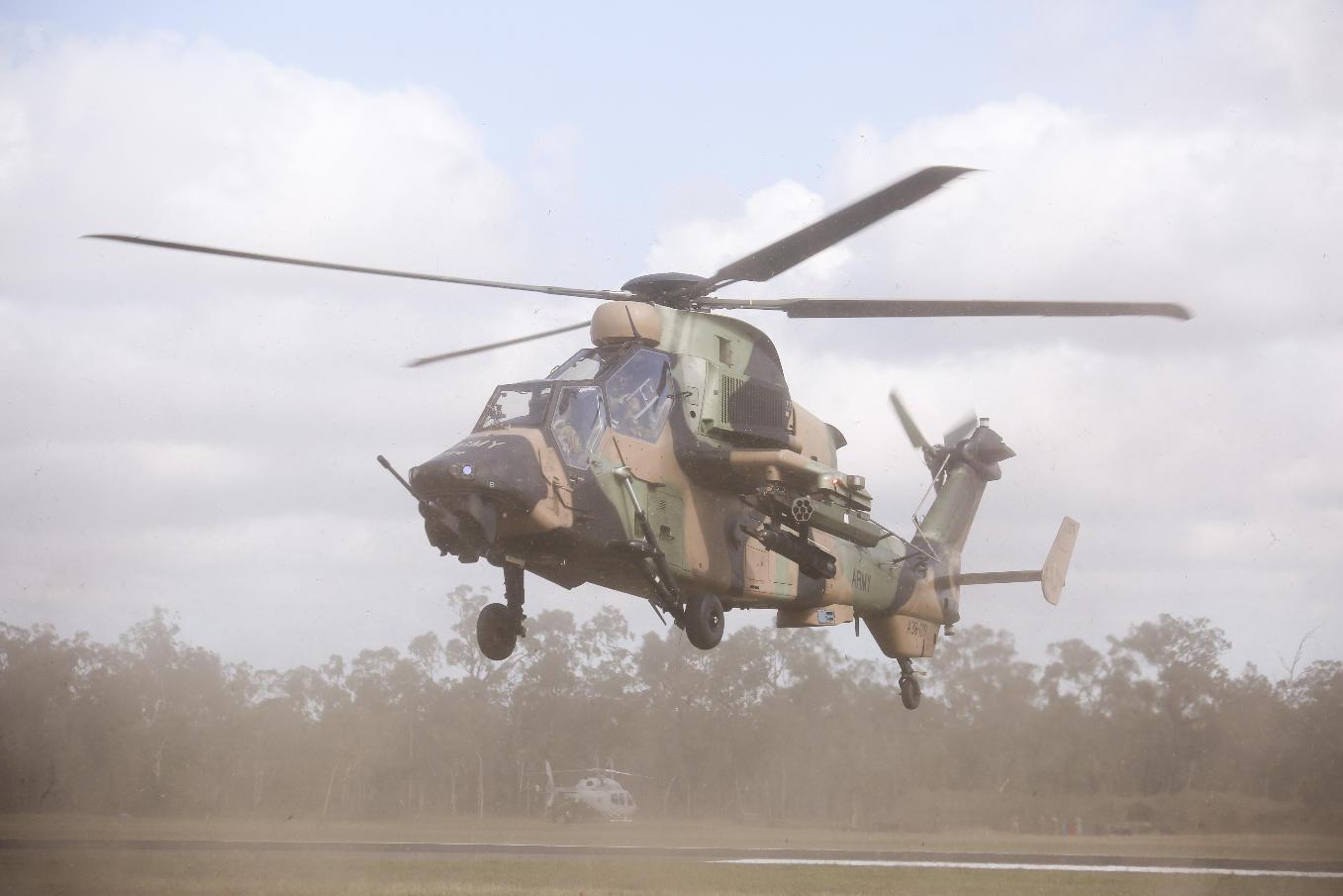 L'Australie cloue au sol ses Tigre