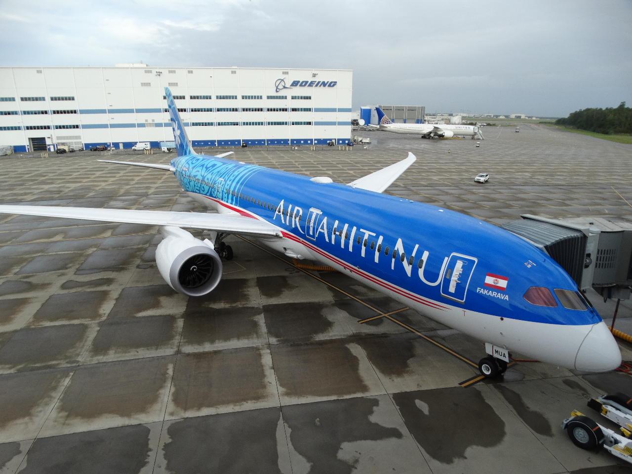 Air Tahiti Nui a reçu son premier Boeing 787-9