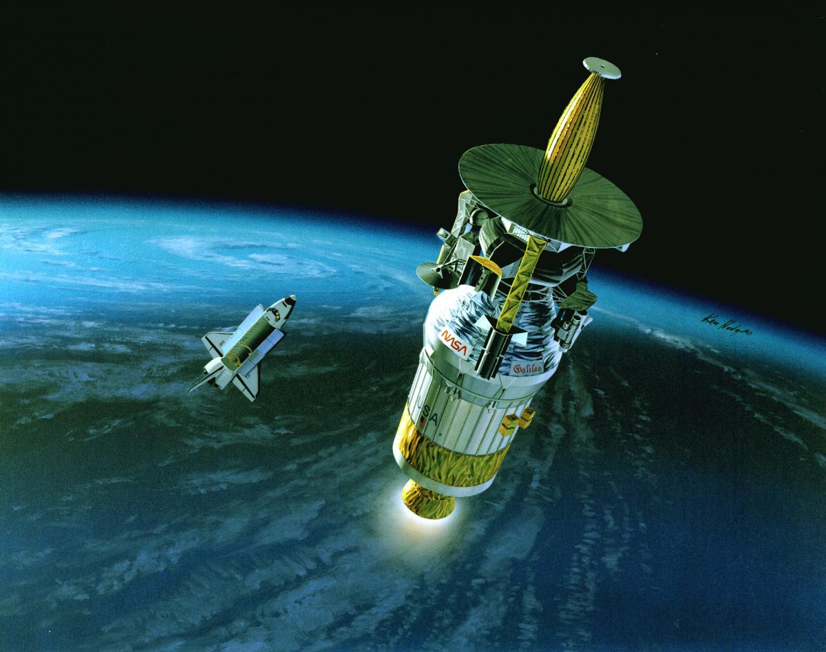 Il y a 30 ans, la sonde Galileo partait explorer le monde jovien