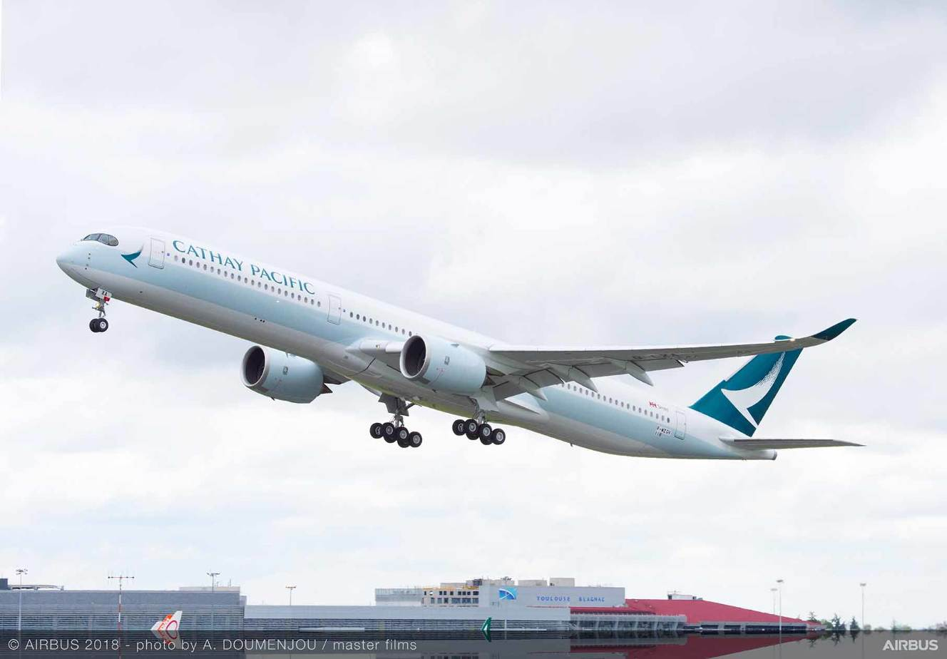 Airbus A350-1000 : le premier pour Cathay Pacific