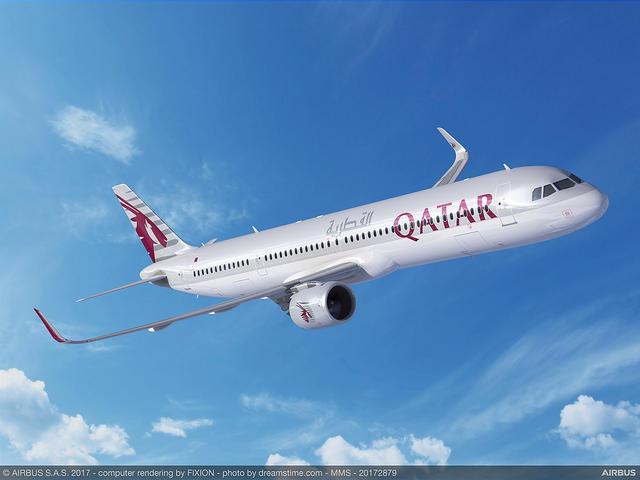 "Qatar Airways va transformer une part de ses Airbus A321neo en ""LR"""