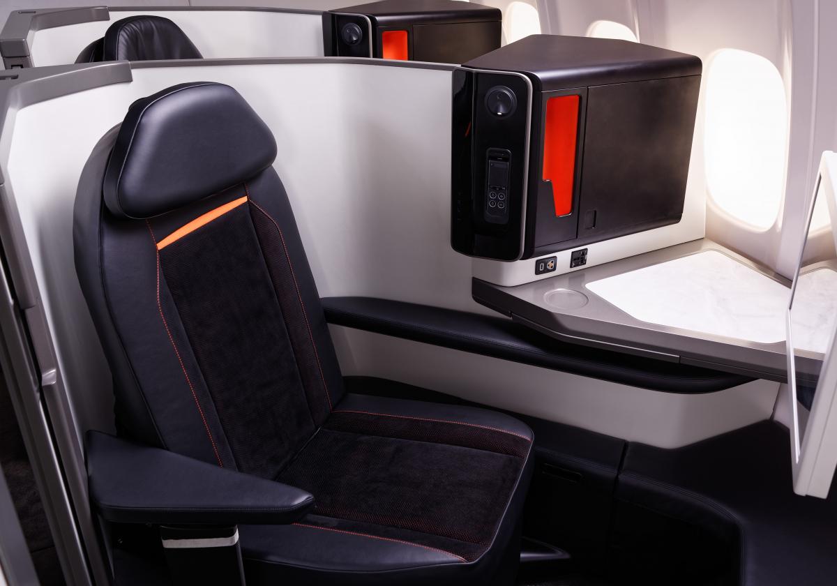 """Stelia Aerospace lance """"Opera"""", son nouveau fauteuil classe affaires"""