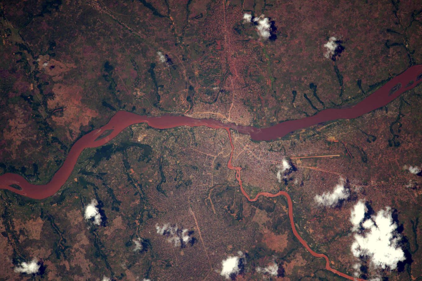 La Terre dans l'oeil de Thomas Pesquet #66 : les veines du Congo
