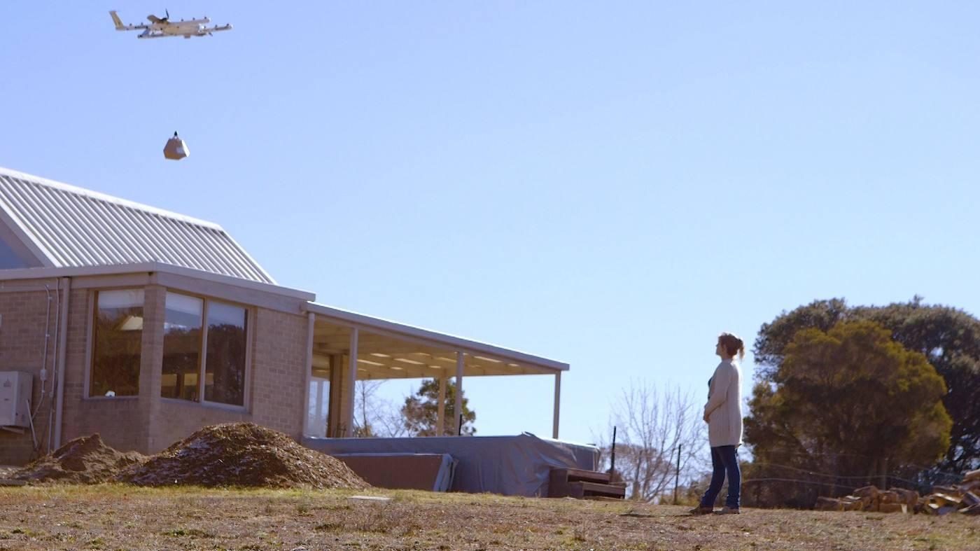 La livraison à domicile par drone est testée en Australie