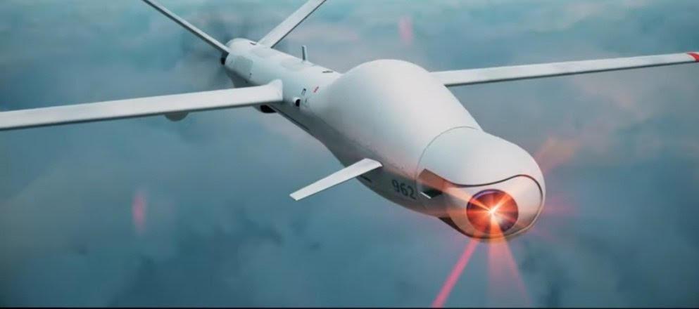 Elbit imagine le futur drone MALE armé d'un laser