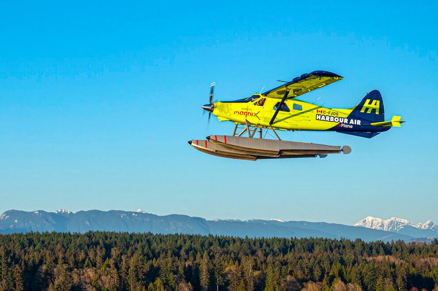 Harbour Air, magniX et H55 s'associent pour certifier le premier avion commercial tout électrique