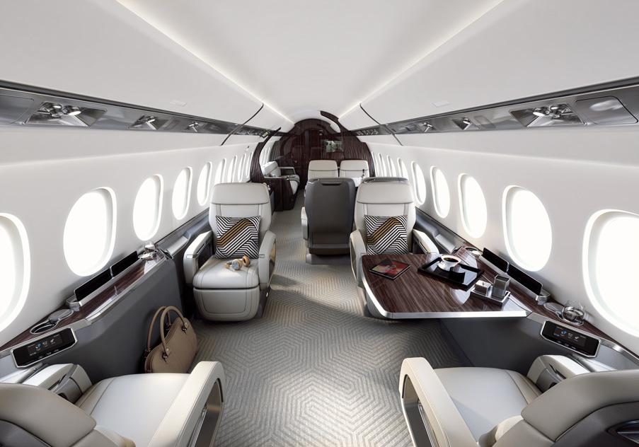 Un second prix pour la cabine du Dassault Falcon 6X