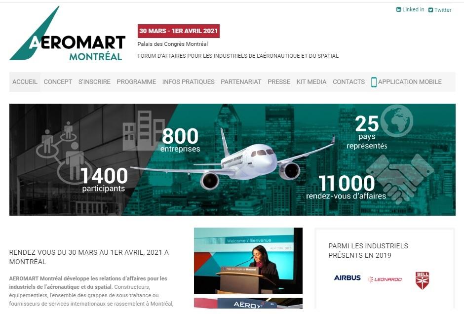 RDV à Aeromart Montréal, du 30 mars au 1er avril 2021