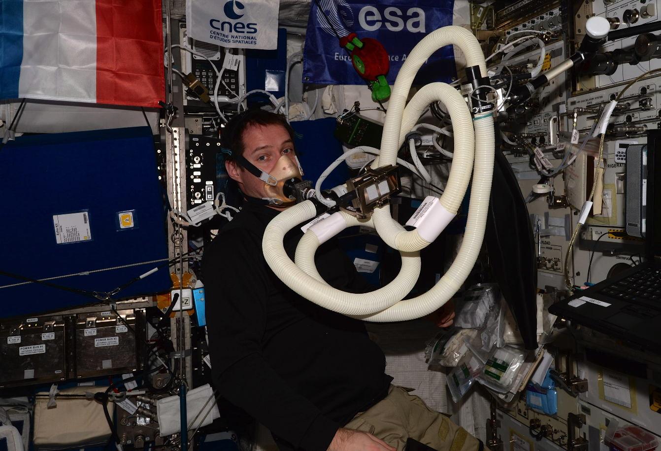 Energy: déterminer les besoins énergétiques des astronautes