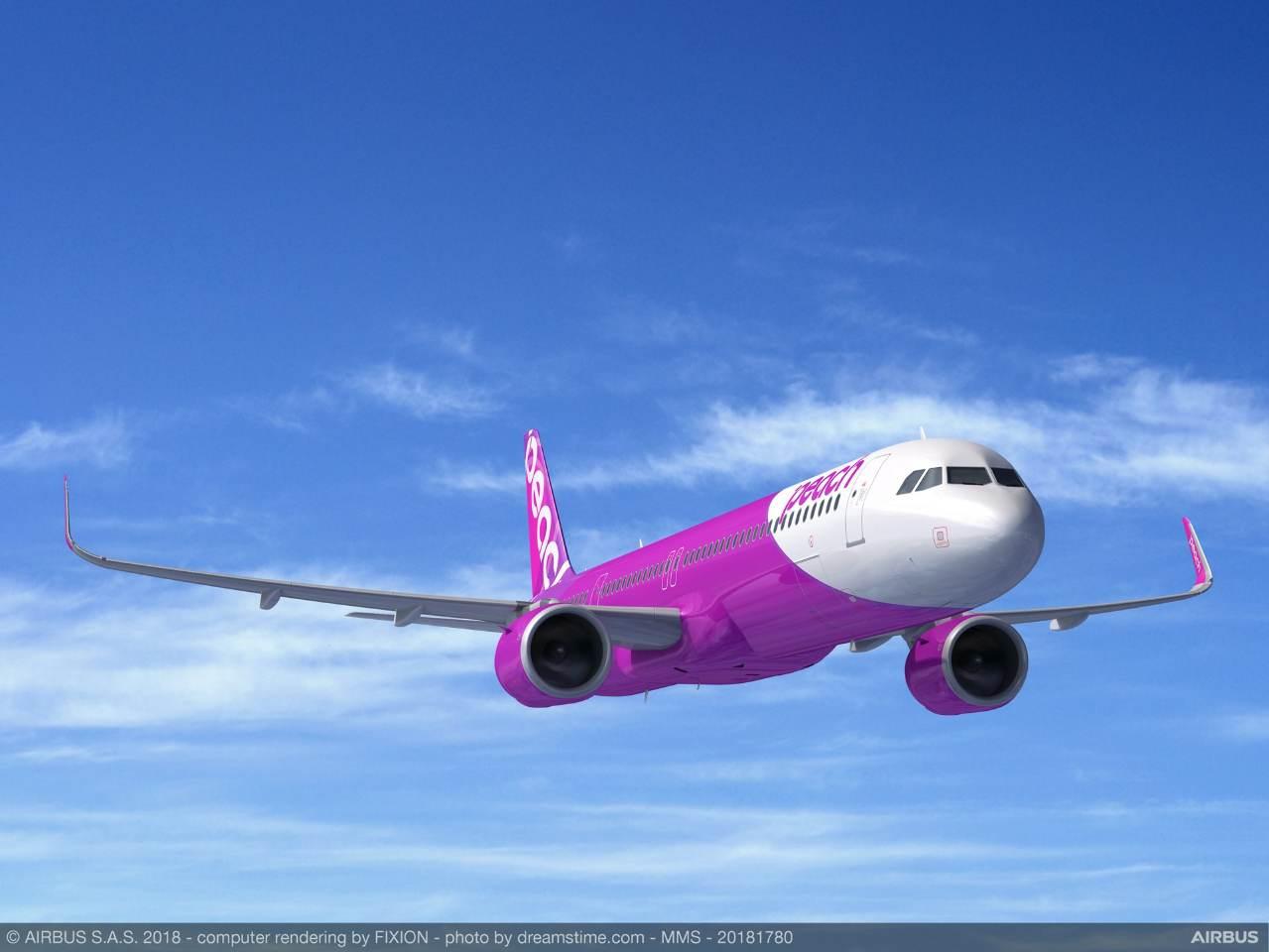 Peach Aviation passe à son tour à l'Airbus A321LR