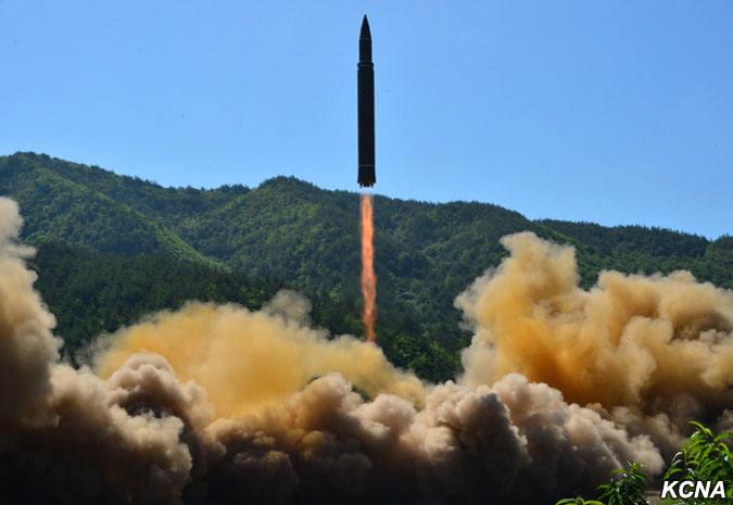 La Corée du Nord aurait réussi un tir de missile balistique intercontinental