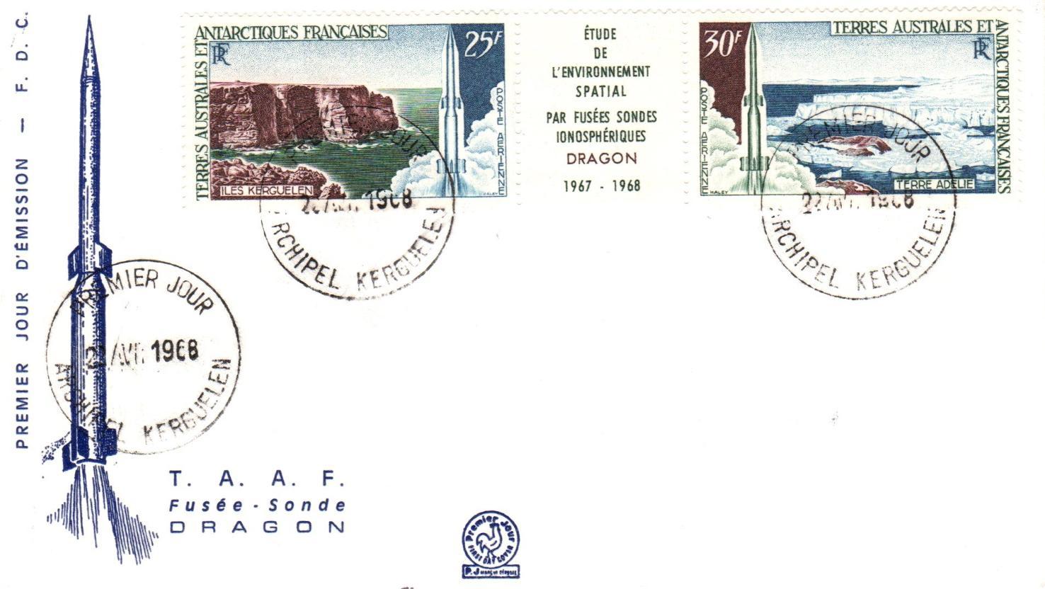 Il y a 50 ans, des Dragon rugissaient aux îles Kerguelen