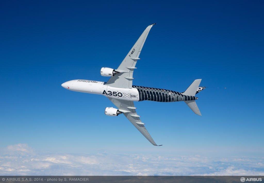L'Airbus A350 va faire son tour de Chine