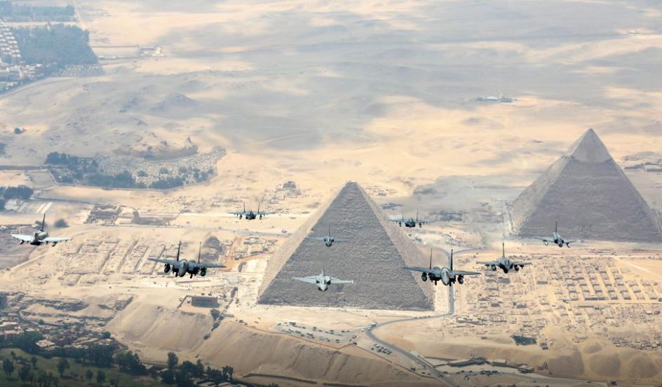 La RAF envoie ses Typhoon en Egypte à l'exercice