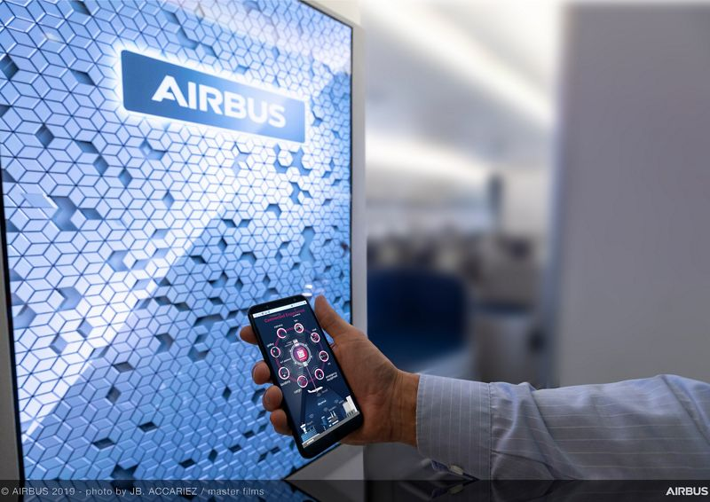 Cabine connectée : retour sur les essais d'Airbus