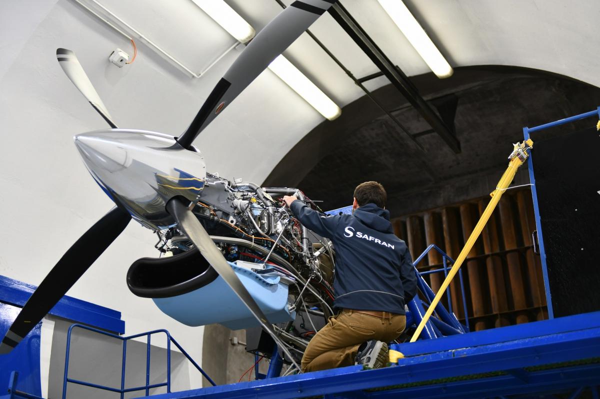Safran débute les essais de Tech TP, le démonstrateur Clean Sky de turbopropulseur