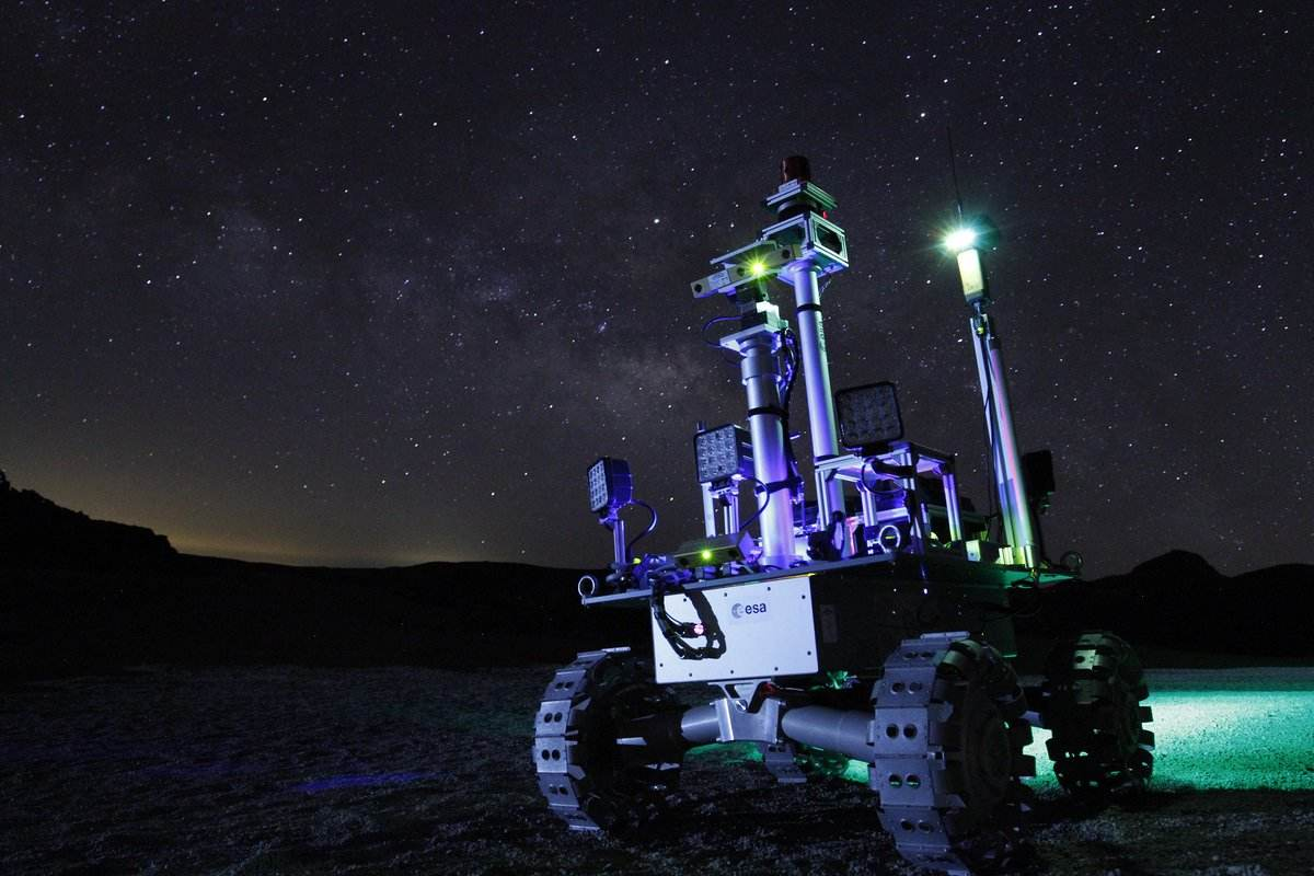 """ESA tests rovers for future """"dark"""" missions"""