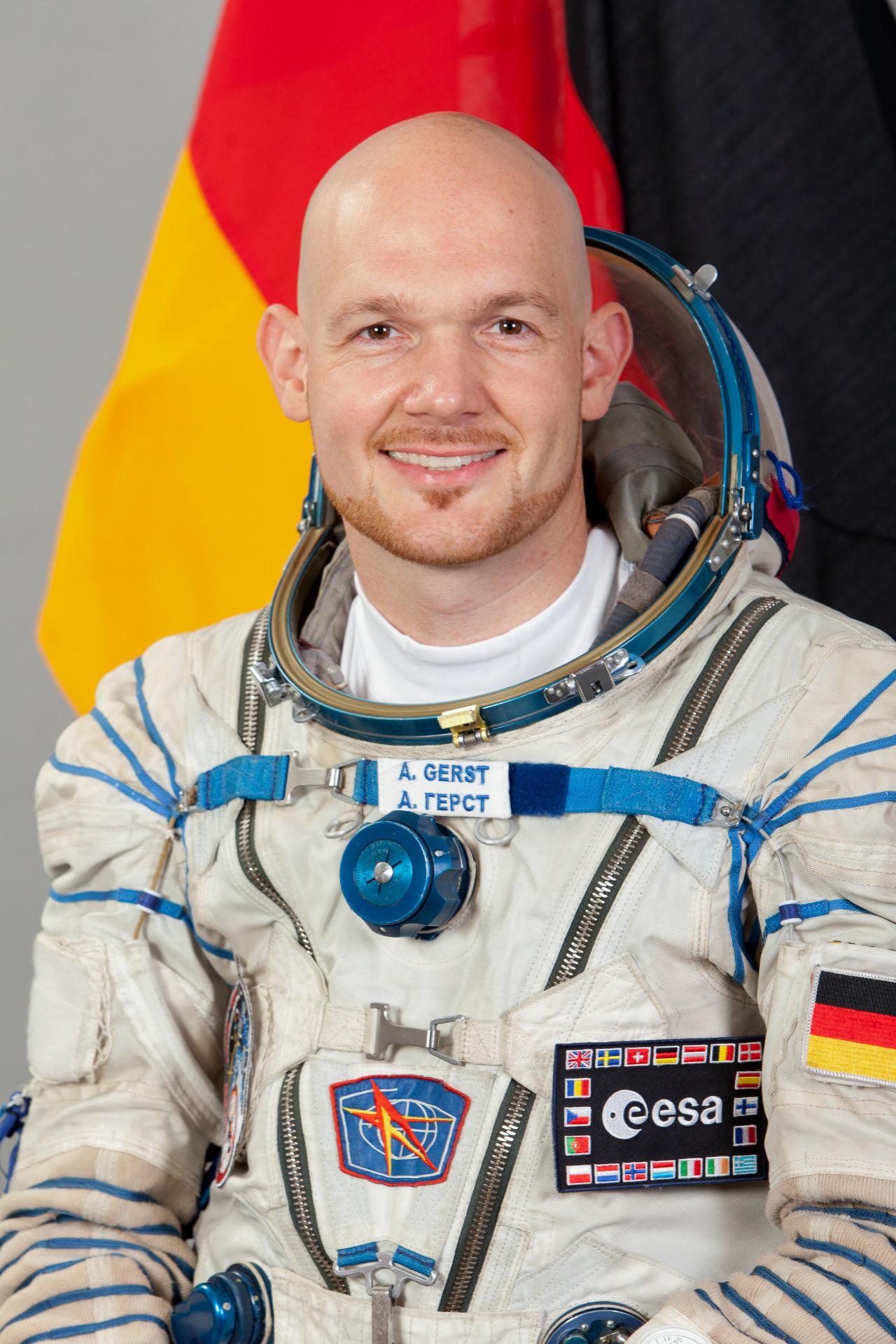 Alexander Gerst futur commandant de la Station spatiale internationale