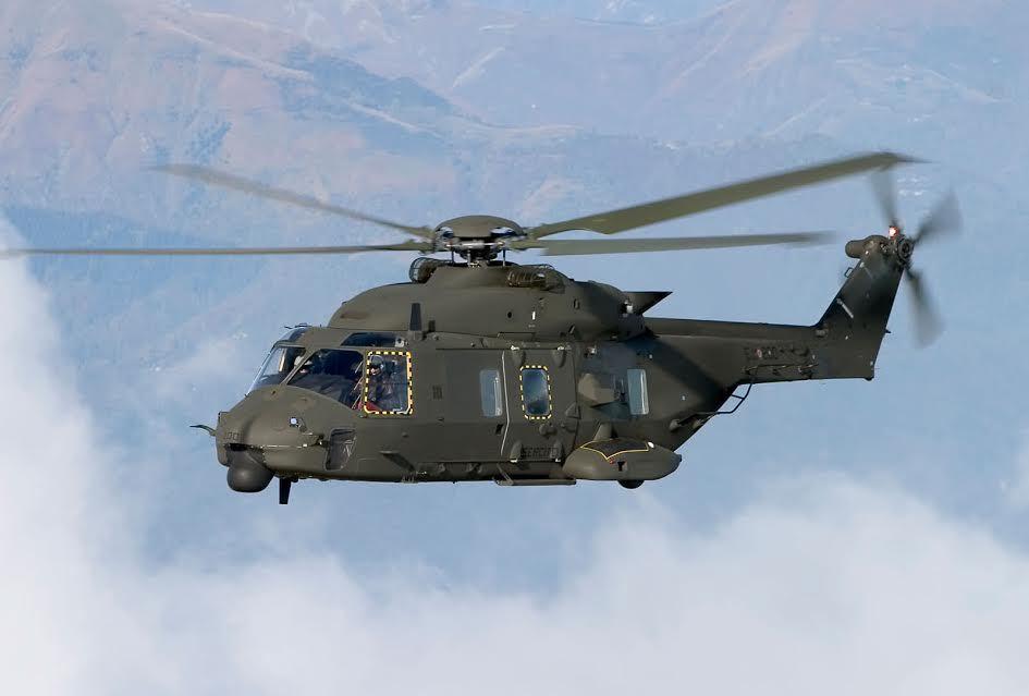 Irak : Les hélicoptères italiens débarquent à Mossoul