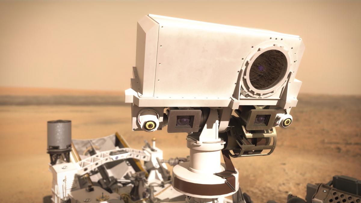 SuperCam sur Mars : premier « bilan de santé » de l'instrument franco-américain