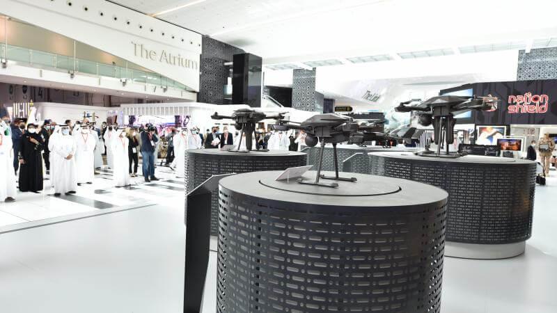 IDEX 2021: le consortium Edge présente ses munitions téléopérées
