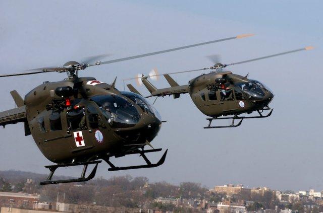 Etats-Unis : la flotte d'Airbus Helicopters UH-72 Lakota passe le million d'heures de vol