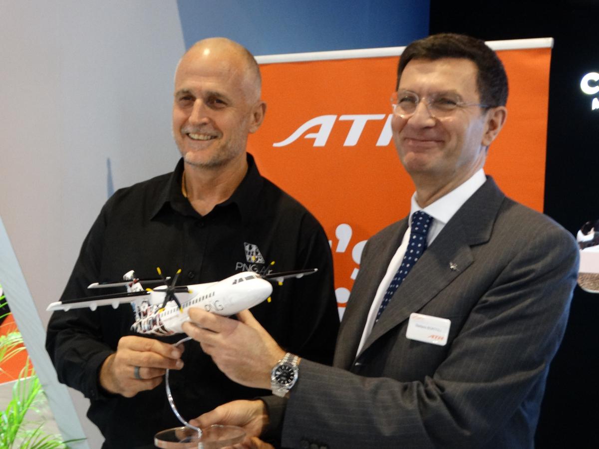 Singapore Airshow 2020 : PNG Air commande trois ATR 42-600S