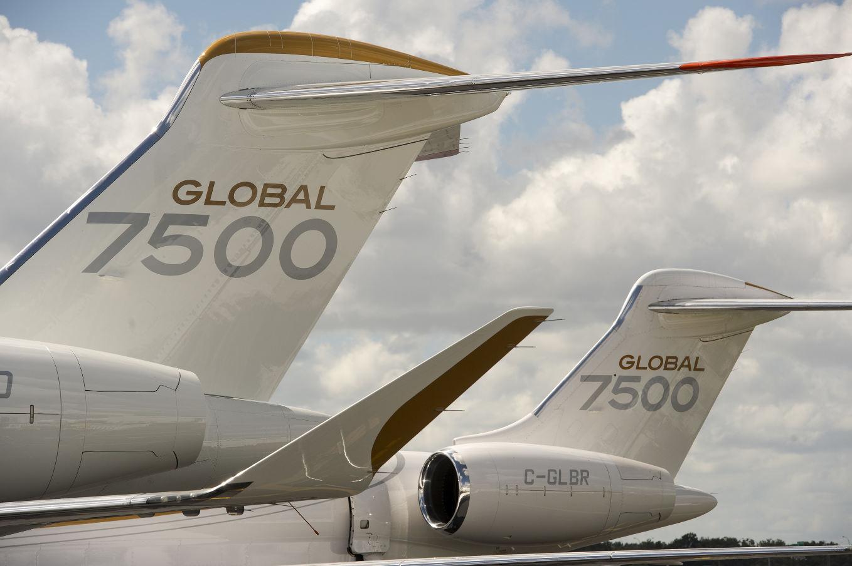 Le Bombardier Global 7500 a reçu son certificat de type de la FAA