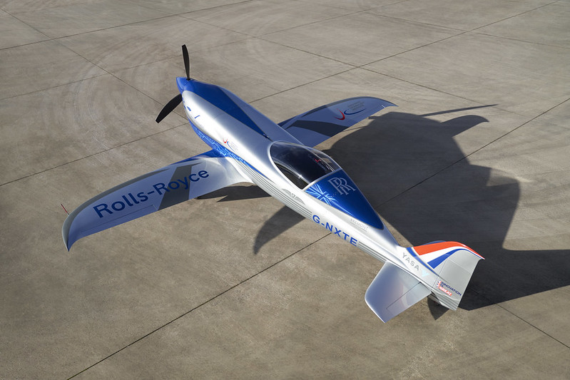 Le Spirit of Innovation de Rolls-Royce se dirige vers son premier vol
