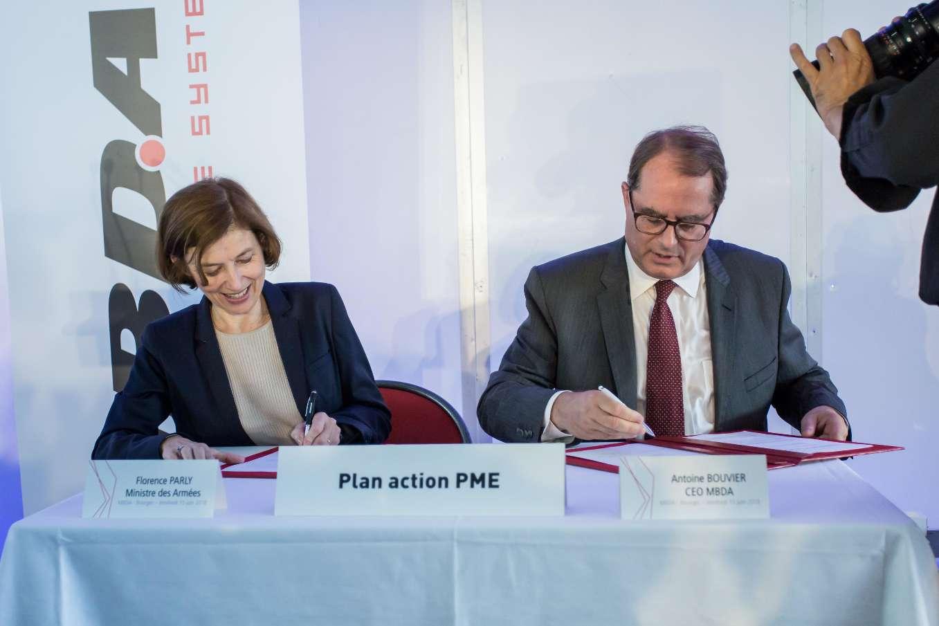 MBDA s'engage sur une convention Action PME
