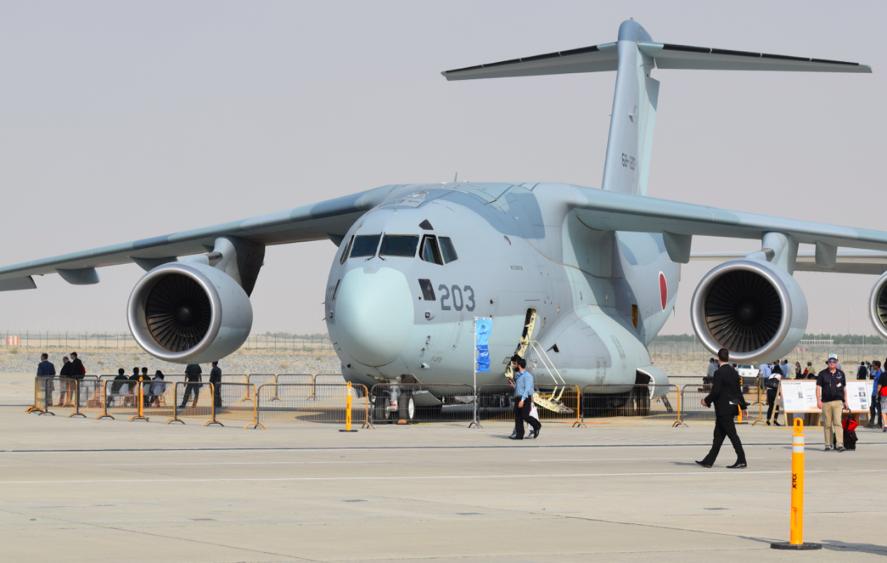 Dubai Airshow 2017: Japan's C2 makes international debut