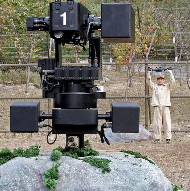 Corée du sud: Intelligence artificielle et robots sniper au nord du 38ème parallèle