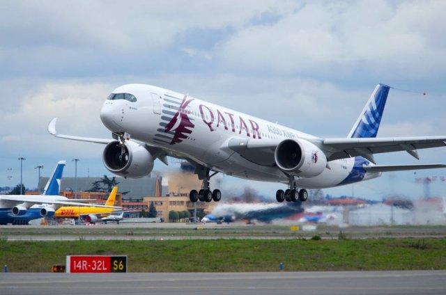 L'Airbus A350 se fait la main à l'EuroAirport