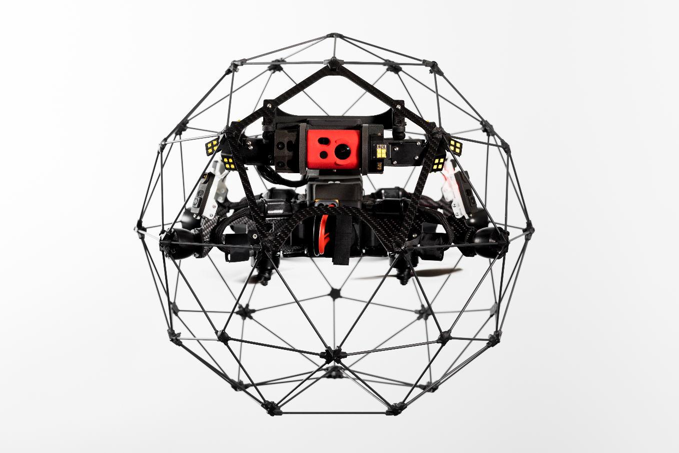 Flyability présente la nouvelle version de l'Elios