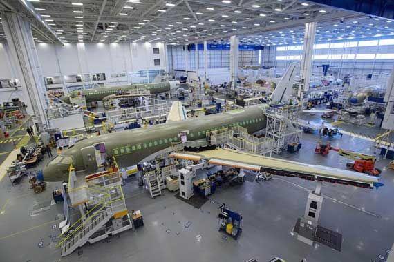 Airbus Canada veut un coup de pouce de Mirabel
