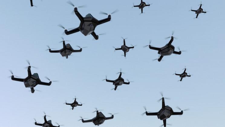 Tsahal attaque le Hamas avec un essaim de drones kamikazes