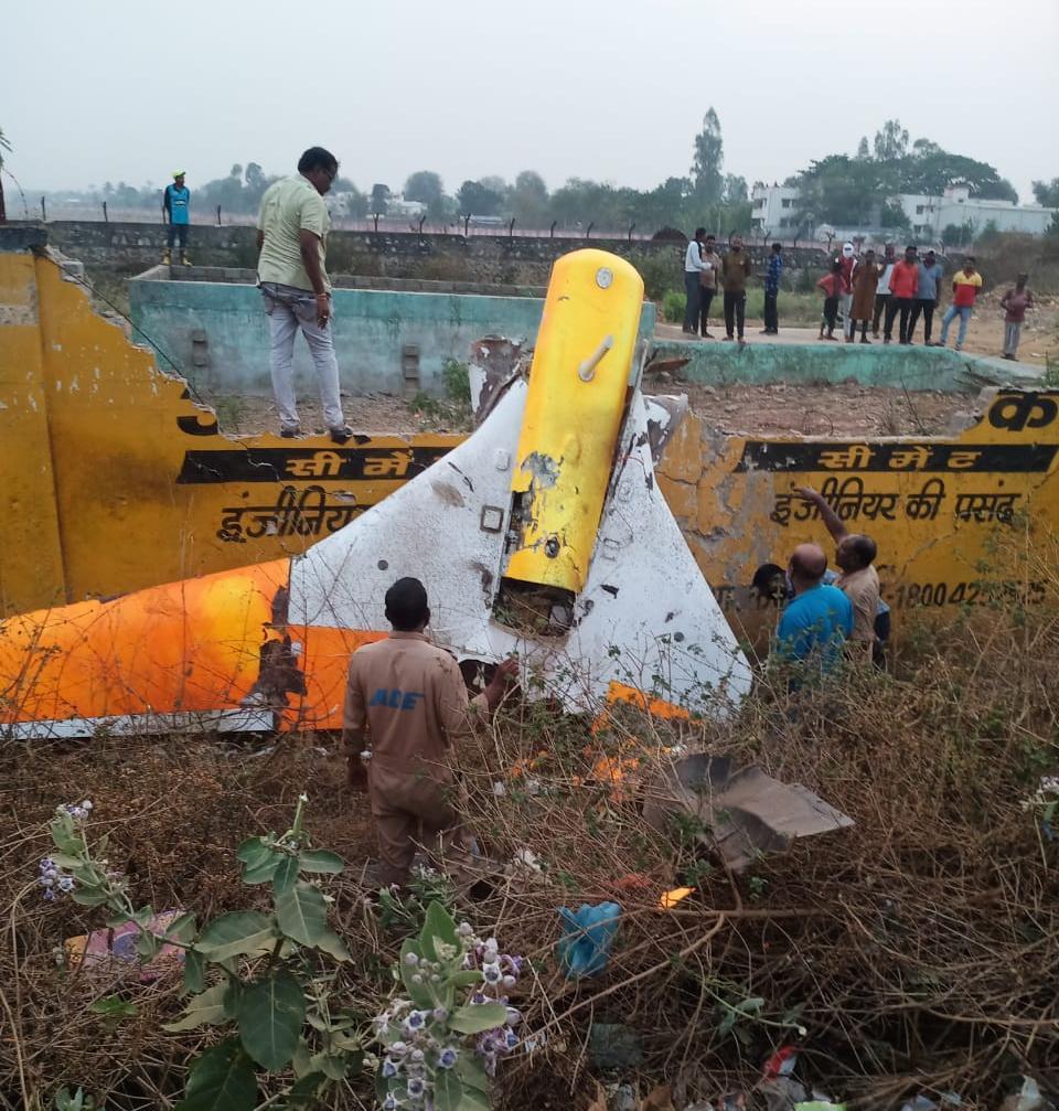 Inde: Crash d'un Black Programme