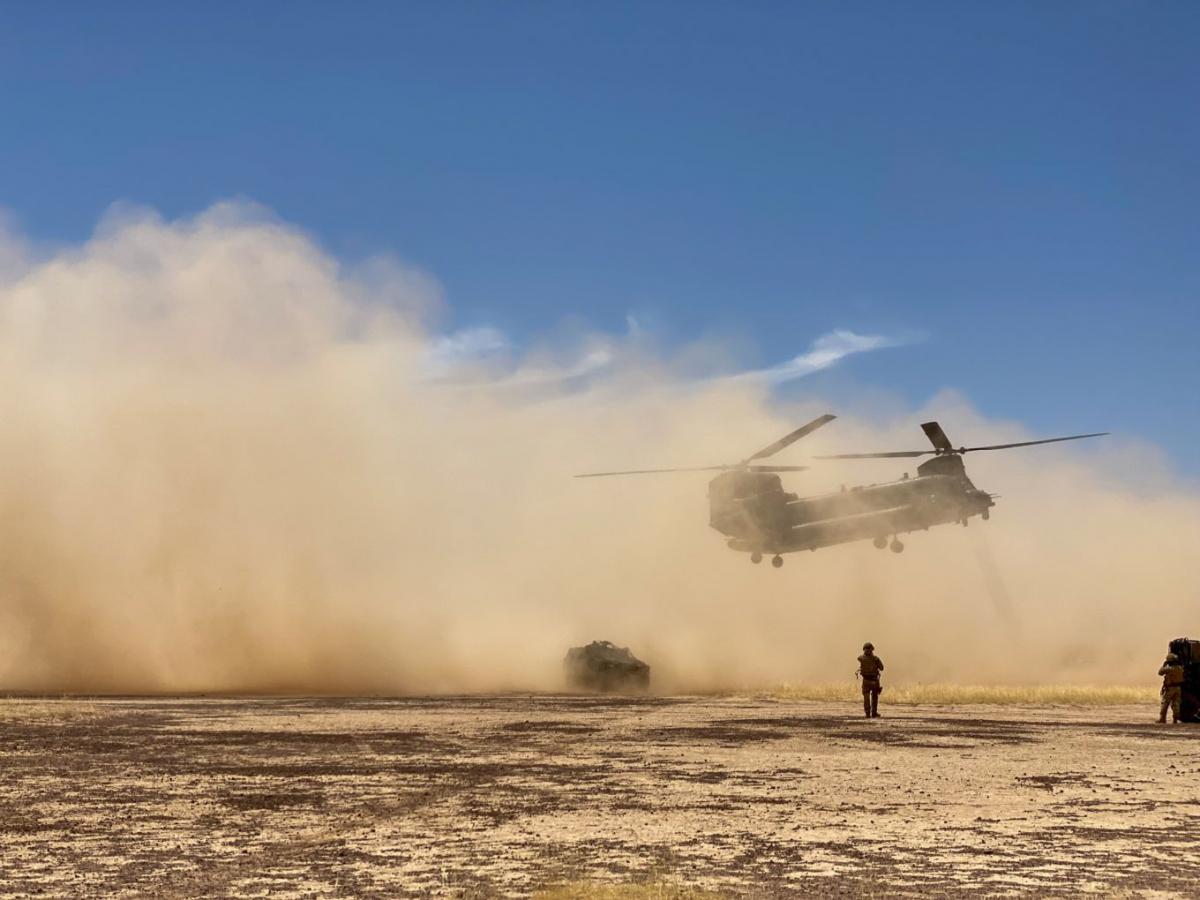 Barkhane: prolongation du déploiement des Chinook