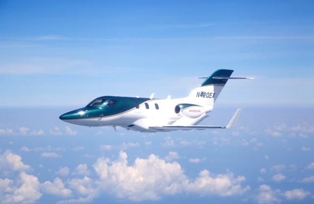 HondaJet: le premier avion de série s'envole enfin