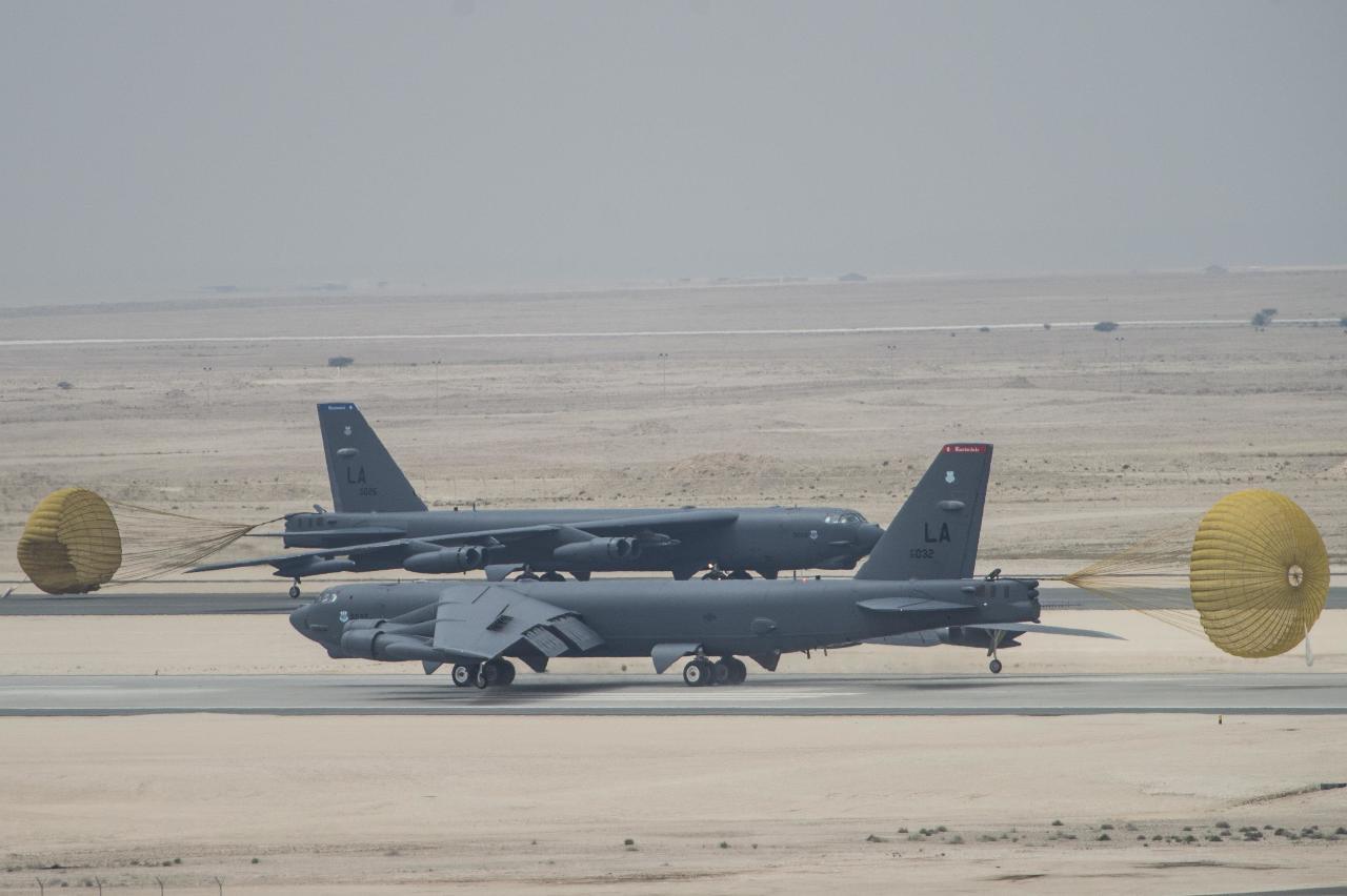 Des B-52 basés au Qatar