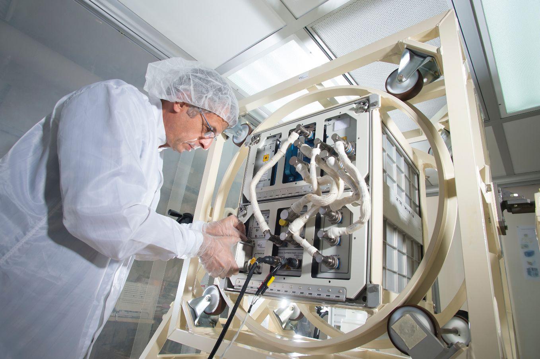 Declic: le mini-laboratoire de physique des fluides reprend du service
