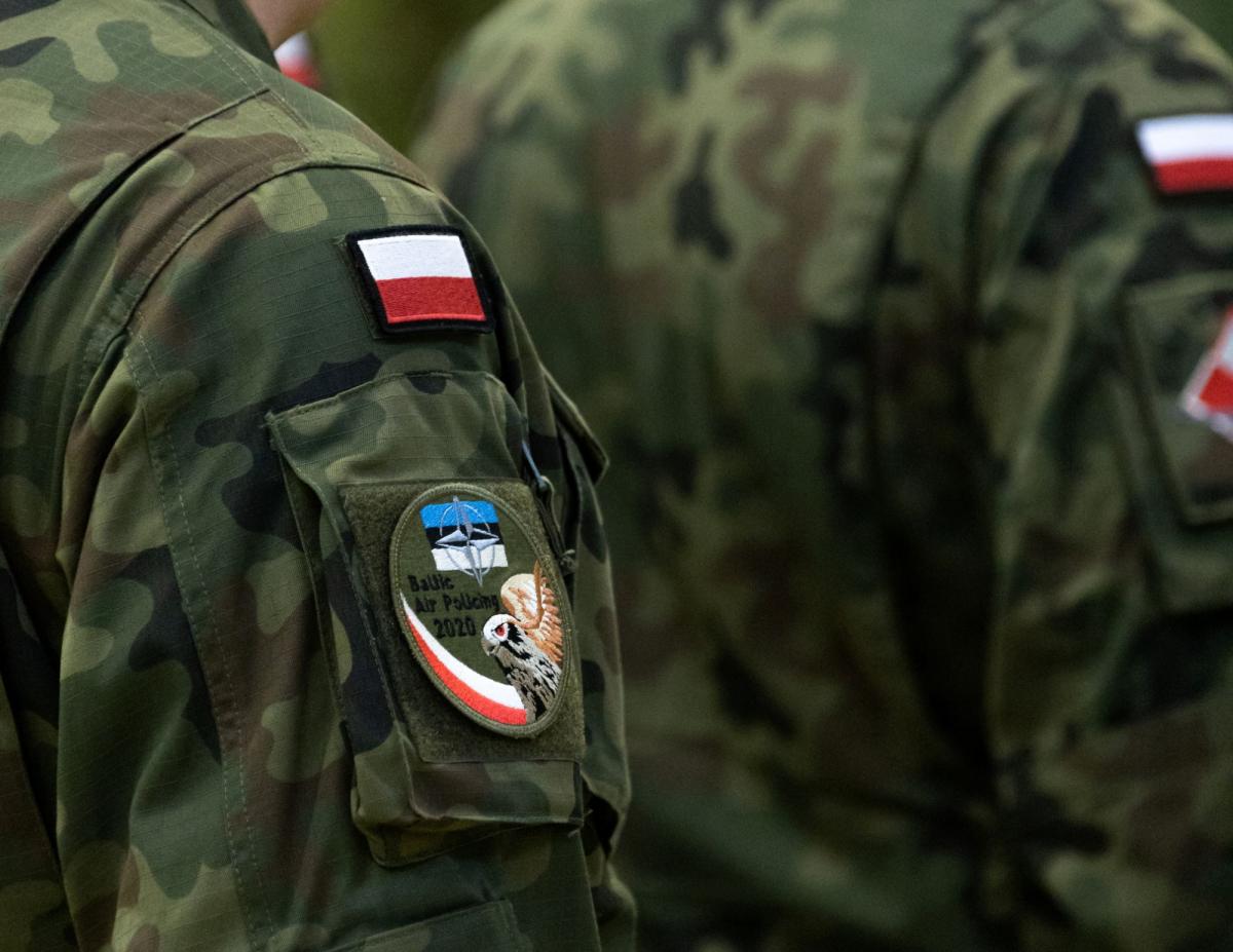 La Pologne participe à la police du ciel dans les Etats baltes