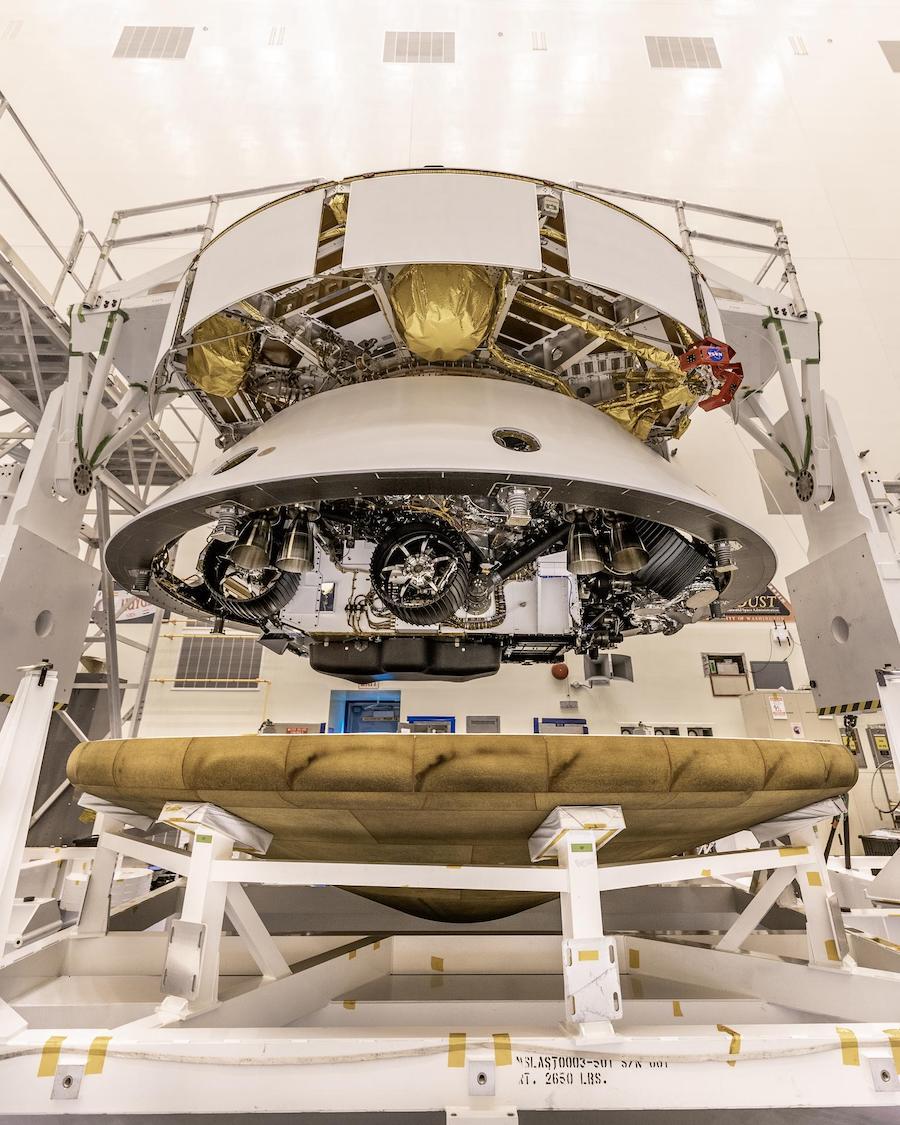 J-31 pour la mission Mars 2020